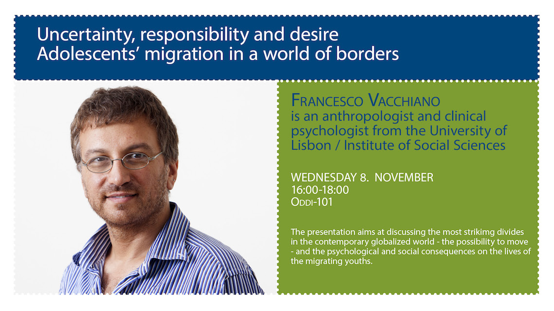 Uncertainty, responsibility and desire: Adolescent's migration in a world of borders