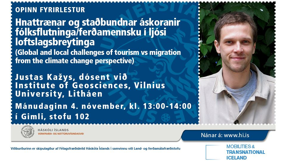 Challenges of tourism vs migration: climate change perspective